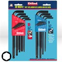 Picture of 13222 Eklind Hex-L Ball End Hex Key Set Combo Pack,13213 & 13609