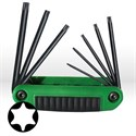 Picture of 25570 Eklind Ergo-Fold Fold Up Hex Key Set,TR Torx T10-T40,7 pc