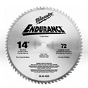 "Picture of 48-40-4505 Milwaukee Circular Saw Blades,14"" blade,Arbor/1"""