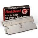 Picture of 3271/0C Red Devil Razor Blade,Single Edge,CD