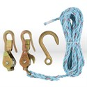 Picture of 180230SR Block and Tackle,3/8 INCH ROPE Dia,750 LB LOAD RATING,STEEL MATERIAL,GALVANIZED
