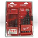 Picture of 48-89-2801 Milwaukee ThunderboltBlk drill bit set,21 pc