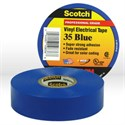 Picture of 54007-10836 3M Electrical Tape,Scotch vinyl electrical color coding tape 35,Blue