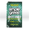 "Picture of 13352 Simple Green Towel SAMPLE,Cleaner Degreaser,Multi-purpose cleaner towels,11"" x10-1/4"""