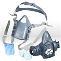 Picture of 51131-37081 3M Respirator,Ultimate reusable half face Pc respirator 7501/37081(AAD),S
