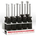 "Picture of 70200 Klein Tools Nut-Driver Set,10-pc metric set,Size 3""Hollow-shaft with stand"