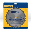 "Picture of 11040ZR Irwin Circular Saw Blade,7-1/4"" X Universal,Chisel circular saw blade for wood"