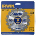 "Picture of 14015 Irwin Circular Saw Blade,5-3/8""x18T Framing/Ripping,10mm"