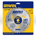 "Picture of 14028 Irwin Circular Saw Blade,7-1/4""x18T Framing/Ripping,Universal"