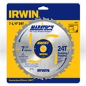 "Picture of 14030 Irwin Circular Saw Blade,7-1/4""x24T Framing/Ripping,Universal"