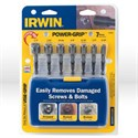 Picture of 394100 Irwin Screw and Bolt Extractor Set,Power-GRIP Screw & Bolt Extractor,7 pc set