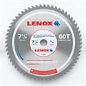 "Picture of 21882 Lenox Circular Saw Blade,7-1/4"" 60T CIRCULAR BLADE-ALUMINUM"