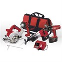 Picture of 0912-29 Milwaukee 4PK COMBO KIT W/ CONTR BAG