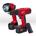 Picture of 0919-22 Milwaukee Power Tool Kit,14.4V 3PK COMBO KIT