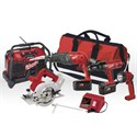 Picture of 0923-25 Milwaukee 5PK COMBO KIT W/ RADIO 18V
