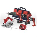 Picture of 0923-29 Milwaukee 4PK COMBO KIT W/ CONTR BAG
