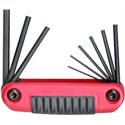 Picture of 25581 Eklind Torx Ergo-Fold Fold Up Hex Key Set,T8-T40 Torx keys