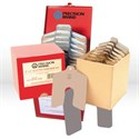 "Picture of 42955 Precision Slotted Shim,B 3""x3"",Stainless Steel,80 Pc Shop Kit"