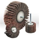 "Picture of 11393 Arc Abrasives Flap Wheel,3""x1""x1/4"" cotton cloth,Light finishing and deburring,120 Grit"