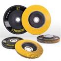"Picture of 71-10828AF Arc Abrasives Predator Flap Discs,Hard Edge,4.5""x 7/8"",Grit 50,13,300 RPM"