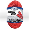 Picture of 02409 Coleman Extension Cord,14/3 SJTW,L 100',Amps 15,Voltage 125 VAC