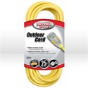 Picture of 02587 Coleman Lighted End Extension Cord,12/3 SJTW,L 25'
