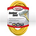 Picture of 04188 Coleman Tri-Source Multi-Outlet Extension Cord,12/3 SJTW,L 50',Yellow