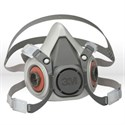 Picture of 51131-07024 3M Half Face Pc Respirator,6100,S