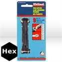 "Picture of 20912 Eklind Fold Up Hex Key Set,Set # 91S,Hex Keys,.050""-3/16"""