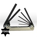 Picture of 22572 Eklind Fold Up Hex Key Set,Set,Torx Key Set,T6-T20
