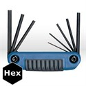 Picture of 25181 Eklind Ergo-Fold Fold Up Hex Key Set,8pc,2mm-8mm