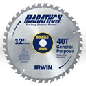 "Picture of 14080 Irwin Marathon Circular Saw Blade,12"",Teeth/40T,General purpose,1"""