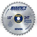 "Picture of 14233 Irwin Marathon Circular Saw Blade,10"",Teeth/24T,Framing and ripping,5/8"""