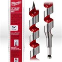 """Picture of 48-13-5750 Milwaukee Wood Boring Bit,3/4"""",Ship auger bit W/nail cutting tip,Coated flutes,L 18"""""""