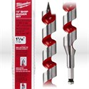 """Picture of 48-13-6010 Milwaukee Wood Boring Bit,1-1/16"""",Ship auger bit W/nail cutting tip,Coated flutes,L 18"""""""