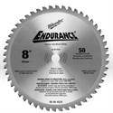 "Picture of 48-40-4520 Milwaukee Circular Saw Blades,8"" blade,Tooth count/50T,Arbor/5/8"""