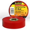 "Picture of 54007-10810 3M Electrical Tape,Scotch electrical tape 35 (10810-BA-10),Red,3/4""x66ftx0.007"""