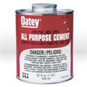 "Picture of 30847 Oatey Pipe Cement,32 oz,PVC or CPVC up to 6"" DIA,40F to 110F"