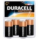 Picture of MN1400R4ZX17 Duracell Coppertop Saver Batteries,C,4 Pack