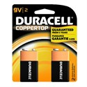 Picture of MN1604B2Z Duracell Coppertop Saver Batteries,9V,2 Pack