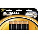 Picture of MN16B4DW Duracell Coppertop Value Batteries,9V,4 Pack