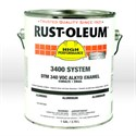Picture of 3415402 Rust-Oleum 3400 Enamel Paint,1 gallon,Aluminum,Dry Time 6-8 hrs