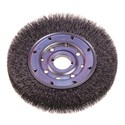 "Picture of 22287 Osborn ATB nylon Abrasive Wheel,Brush Dia.=6"",GRT/180,Arbor=2"",Face Width=7/8""g."