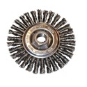"Picture of 26316 Osborn Stringer Bead Wire Wheel,Brush Dia.=6-1/2"",Material=Steel,Fill Dia.=3/16""x.020"