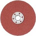 """Picture of DARC1G0815 DeWalt Coated Abrasives,4-1/2"""" 80G HP QUICK LOCK FIBER DISC 15PK"""