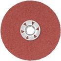 """Picture of DARC1K0215 DeWalt Coated Abrasives,7"""" 24G HP QUICK LOCK FIBER DISC 15PK"""