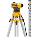 Picture of DW096PK DeWalt Level,26X Auto Level Package W/Tripod & Grade Rod