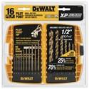 """Picture of DW1956 DeWalt Metal Drilling,16-Pc Pilot Point Set W/1/2"""" Bit (Tough Case)"""