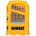 """Picture of DW1969 DeWalt Pilot Point Drill Bit,29 pc Set W/1/2"""" Bit"""