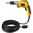 Picture of DW272WT DeWalt 0-4000 rpm VSR Drywall Screwdriver w/50ft. twist-lock cord 6.3 amp